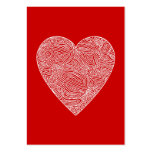 Valentines Large Business Cards (Pack Of 100)