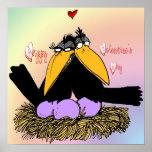 Valentine's Love Nest Poster