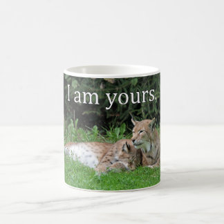 Valentines Lynx Love Coffee Mug