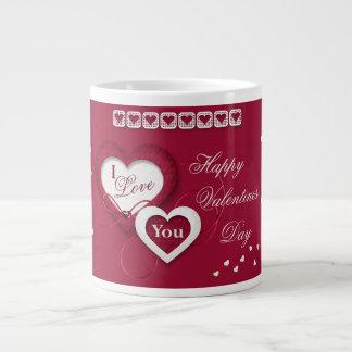 """Valentine's Mug - """"I Love You"""" Jumbo Mug"""