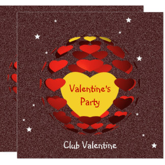 Valentine's Party Card
