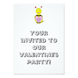 Valentine's Party Invitations For Kids