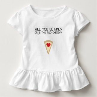 Valentine's Pizza Humor Toddler T-Shirt