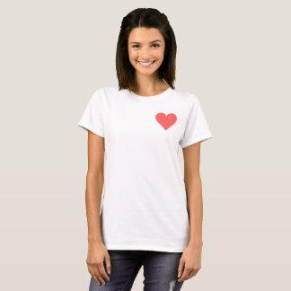Valentine's Read Heart T-Shirt