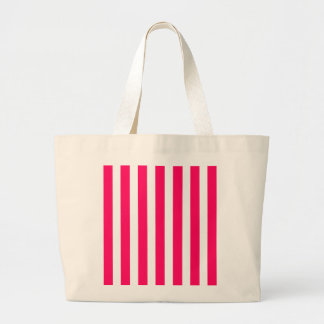 Valentines Rose Pink and White Stripes Bags