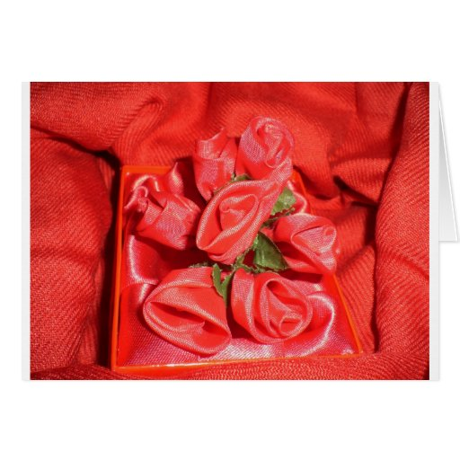 VALENTINES ROSES CARD