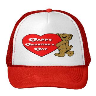 Valentine's Teddy Bear Cap