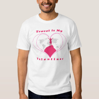 Valentines Tee Shirt for travelling Men
