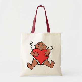 Valentines Tote Bag Cupid Love Custom Bags