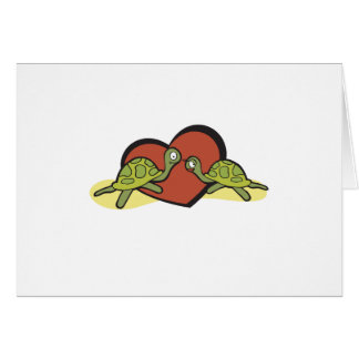 Valentines Turtle Love Greeting Card