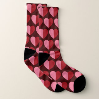 Valentines Two Tone Hearts 1