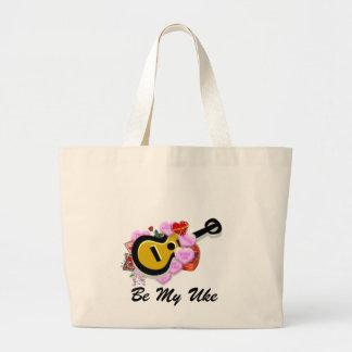 Valentine's Ukulele Tote Bag