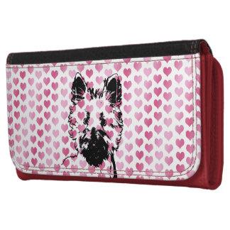 Valentines - Westie Silhouette Women's Wallets