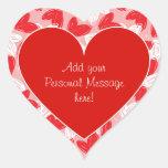 "Valentine's ""With Love"" Hearts - Sticker"