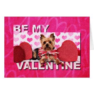 Valentines - Yorkie - Pixie Card