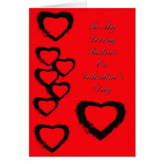 Valentne's Card For Partner