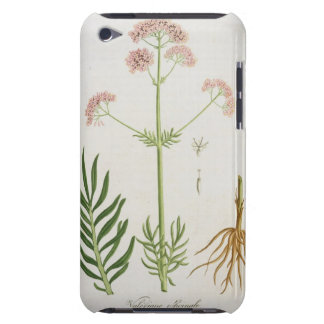Valerian from 'Phytographie Medicale' by Joseph Ro iPod Case-Mate Cases