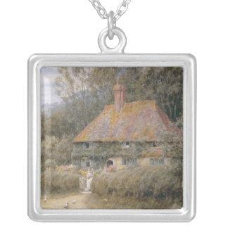 Valewood Farm under Blackwood, Surrey Silver Plated Necklace