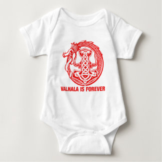 Valhalla Is Forever - Viking Pride Baby Bodysuit