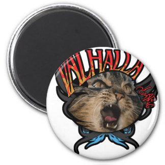 Valhalla 6 Cm Round Magnet