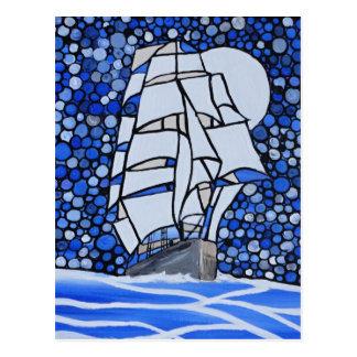 valiant ship postcard