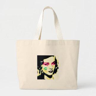 Valintine Kiss Tote Bags