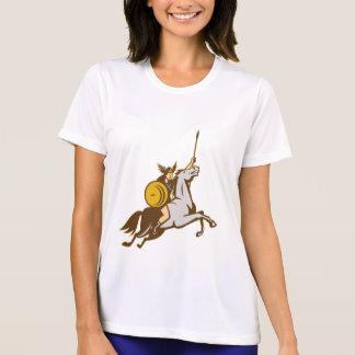 Valkyrie Riding Horse Retro Shirt