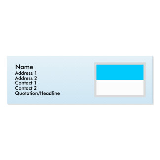 Valle del Cauca, Columbia Pack Of Skinny Business Cards