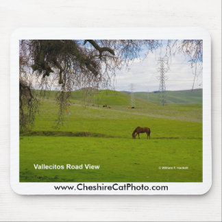 Vallecitos Road California Products Mouse Pad