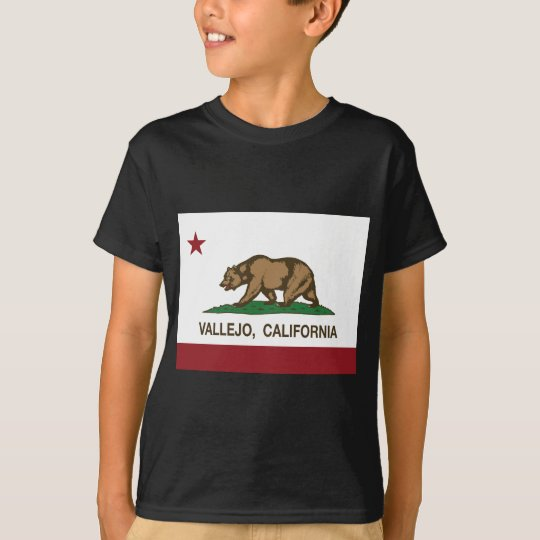 vallejo california state flag T-Shirt