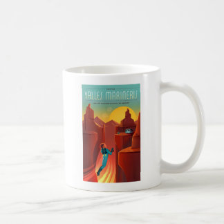 Valles Marineris Martian Space Tourism Coffee Mug