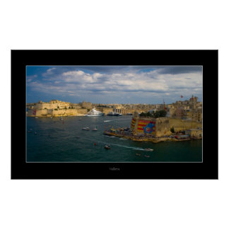 Valletta Harbor (Island of Malta) Poster