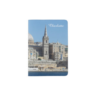 Valletta Landscape Capital City of Malta Passport Holder