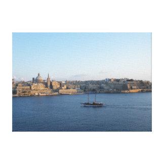 Valletta - Malta Canvas Print