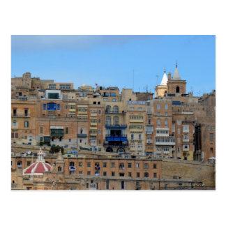 Valletta, Malta Cityscape Architecture Postcard