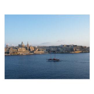 Valletta - Malta Postcard