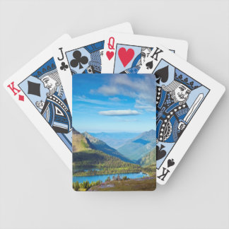 Valley Beyond Bicycle Playing Cards