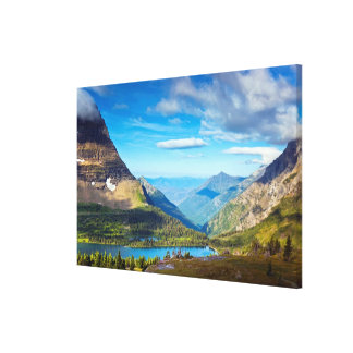 Valley Beyond Canvas Print