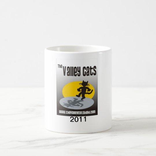 Valley Cats Band 2011 coffee mug