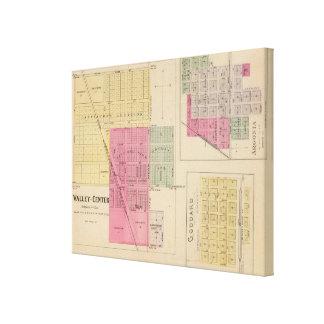Valley Center, Goddard, and Argonia, Kansas Canvas Print