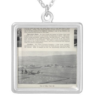 Valley Ford, California Silver Plated Necklace