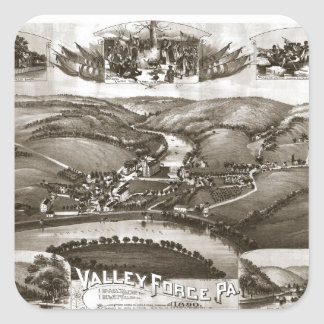 Valley Forge1890 Square Sticker