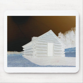 Valley Forge, Pa Cabin (colors modified) Mousepads