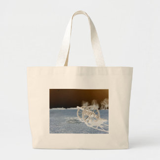 Valley Forge, Pa. Cannon (modified Colors) Canvas Bags