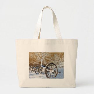 Valley Forge, Pa. Cannons (modified Colors) Tote Bag