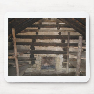 Valley Forge, Pennsylvania. Soldiers Cabin. Mouse Pads