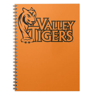 Valley High School Tigers Notebooks