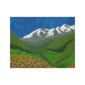 Valley I Canvas Print