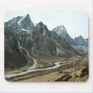 Valley in high Himalaya close to Mount Everest Mouse Pad