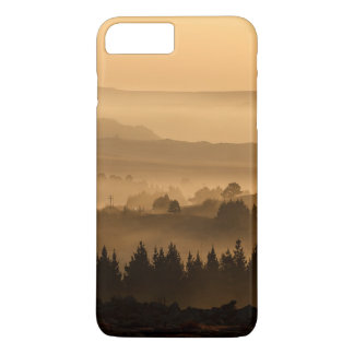 Valley in mist beautiful scenery iPhone 7 plus case